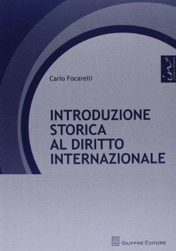 Introduzione storica al diritto internazionale