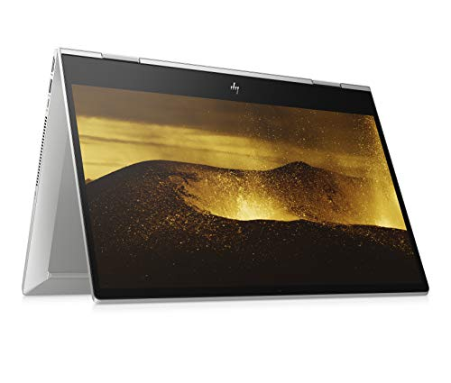 HP ENVY x360 15-dr1233ng 41,09 cm (15,6 Zoll / Full HD Touch) Convertible (Intel Core i7-10510U, 16GB DDR4 RAM, 1TB SSD, Nvidia GeForce MX250 4GB GDDR5, Windows 10 Home) Fingerabdruckleser, silber
