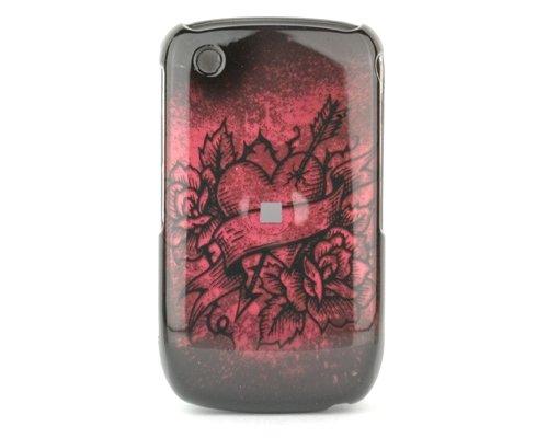 Talon teléfono Carcasa para Blackberry 8520Curve DG–Flecha de Cupido