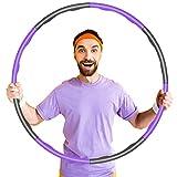 KOVEBBLE Hula Hoop Reifen für Erwachsene und Kinder, Hoola Hoop Reifen zur Fitnessübungen,...