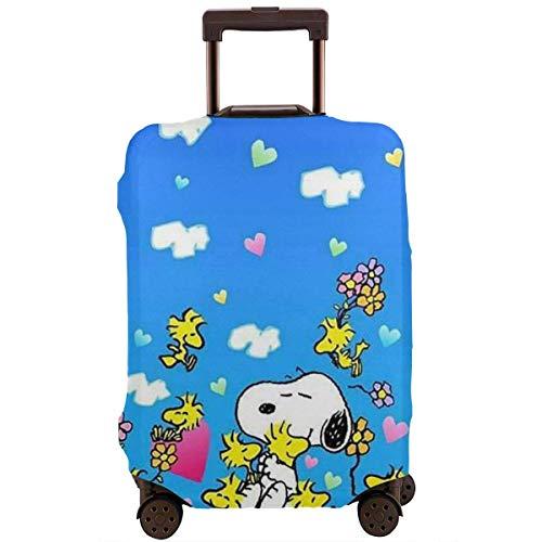 Funda para equipaje de viaje Snoopy Heart Maleta Protector lavable 45-81 cm XL