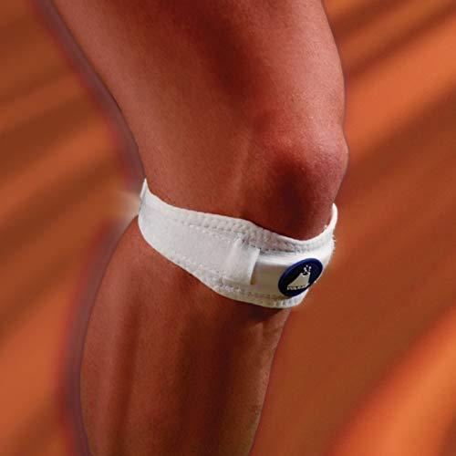 Vulkan Patella Knieriemen, Universal Größe Kniegurt zur Verringerung der Spannung der Patellasehne, Compression Kniebandage lindern Schmerzen und Beschwerden von Jugendlichen Wachstum und Sport