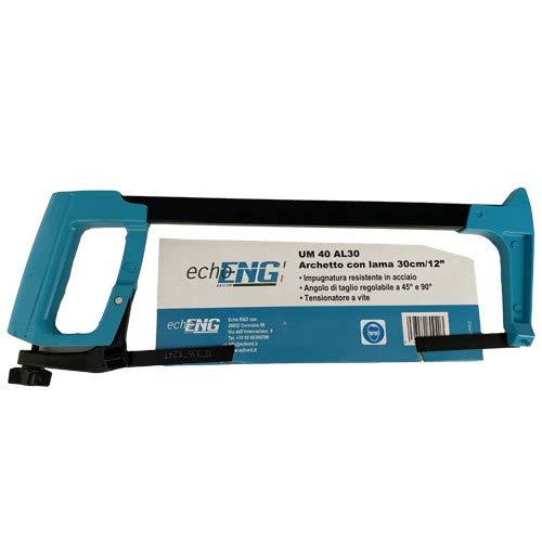 Arco de sierra de metal profesional para hierro, hoja de 300 mm - echoENG - UM 40 AL30