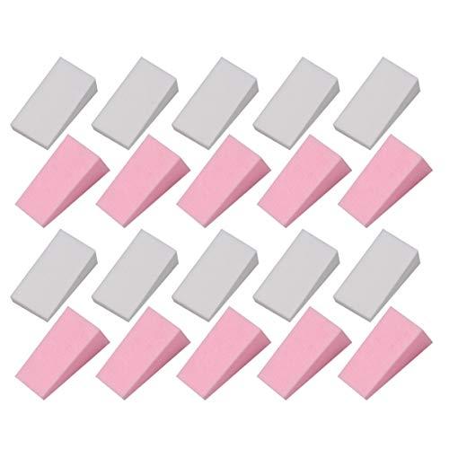 Lurrose Éponges Cosmétiques Cales de Mousse de Maquillage en Latex Mini Cales D'applicateur pour Femmes Dame 48 Pièces