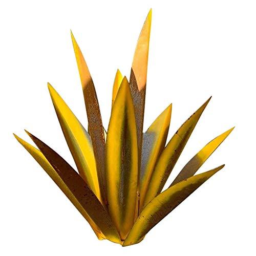 DHFD Tequila Rustic Sculpture, DIY Metal Agave Plant, Metal Agave Plants, Garden Yard Art Sculpture Home Decor, Ornament Metal Plants Shape Sculpture Home Decor