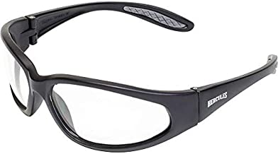 Global Vision Eyewear Men's Hercules 24 Safety Glasses with Photochromic Color Changing Lenses, Clear to Smoke