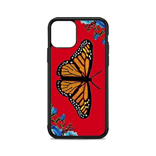 Funda de teléfono Mariposa para iPhone 12 Mini 11 13 Pro XS MAX X XR 6 7 8 Plus SE20 Funda de Silicona Suave TPU, A1, para iPhone 11 Pro