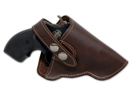 Barsony New Brown Leather OW Holster for Snub Nose 2' 22 38...