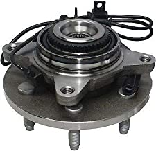 Detroit Axle 4x4 Front Wheel Hub and Bearing Assembly w/ABS 6-Lug for [2004-05 Ford F-150 4x4 (Built Before 11/29/04 Production Date)]