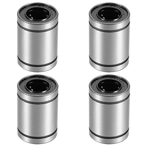 uxcell LM12UU Linear Ball Bearings 12mm Bore 21mm OD 30mm Long for CNC Machine 3D Printer 4pcs