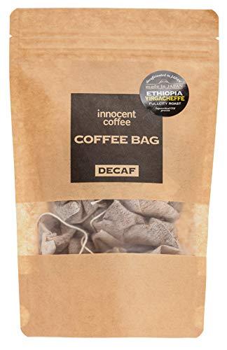 [イノセントコーヒー] カフェインレス 浅煎り エチオピアイルガチェフ 上質な酸味 美味しい スペシャルティ コーヒー 最高級 デカフェ ギフト 国内加工 (コーヒーバック) 妊娠中 妊婦