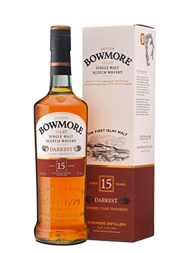 Bowmore 15 Años Whisky Escoces, 700ml