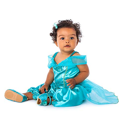 Disney Jasmine Costume for Baby  Aladdin, Size 6-12 Months Green