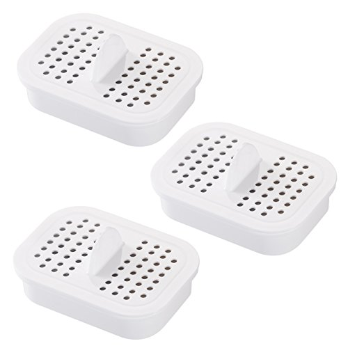 Nakii Water Pitcher Replacement Filter for NFP-100, 3 Count