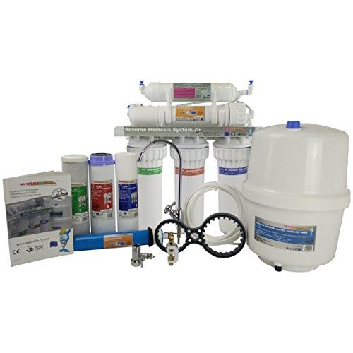 Sistema di filtraggio dell'acqua ad osmosi inversa Costruito per rimuovere fino al 98% di contaminanti da osmosi