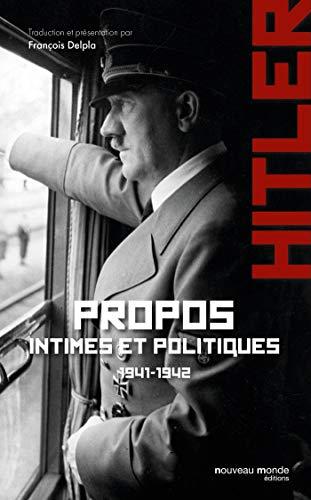 Propos intimes et politiques