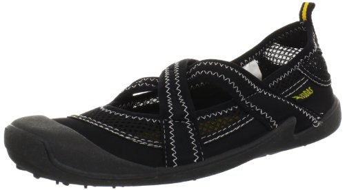 Cudas Women's Shasta Water Shoe,Black,6 M US