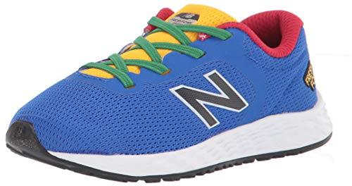 New Balance Kids Fresh Foam Arishi V2 Bungee Running Shoe, Cobalt, 8 US Unisex Toddler
