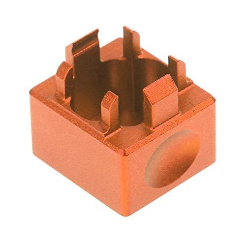 yaohuishanghang Teclas de gomaTecla PBT Interruptor Interruptor Teclado mecánico KeyCaps Abrebotellas Interruptor de aleación de Aluminio Metal Interruptor PUSTER Shaft PUTERER (Color : Red)