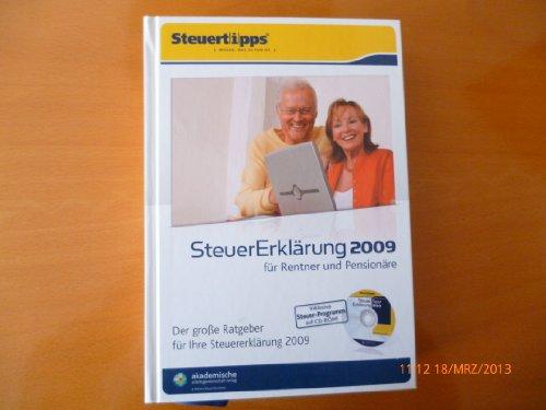 Steuererklärung 2009 für Rentner und Pensionäre