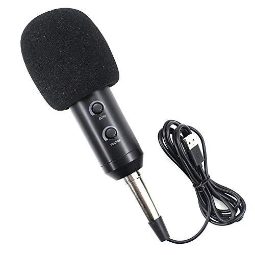 ZUEN Multifunktions-Mikrofon, Signal-Zu-Rausch-Verhältnis 70 Db 3,5 Mm Vergoldeter Stecker Onboard-Grafikkarte Geeignet Für Schul Schlafzimmer Webcast
