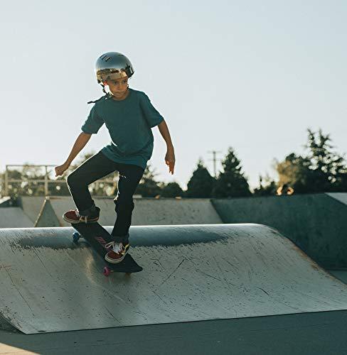 31 inch Tony Hawk Skateboard, Tony Hawk Signature Series 3, Metallic Graphics & 9-ply Maple Desk Skate Board for Cruising, Carving, Tricks and Downhill, Hawk Engine (ABO31S3TH-HEN-STK-1)