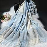 JPZCDK Moda señora Bufanda chales Bufanda de Cachemira Estola Bufandas de Lana a Cuadros para Mujer Invierno cálido Poncho Femenino Capa, como Foto, 200x70cm