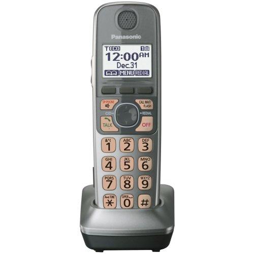 Panasonic KX-TGA470S Extra Handset for KX-TG77XX Cordless Phones Series, Silver