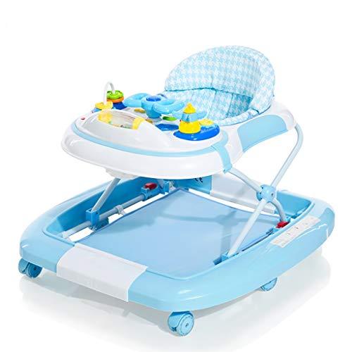 LFY Andador para bebés con Bandeja de Actividades, Altura Ajustable del cojín del Asiento Andador para bebés