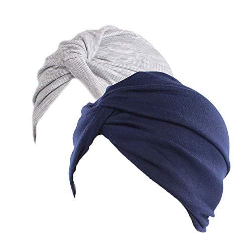 Sombrero Chemo de la Gorrita Tejida de algodón de Las Mujeres Casquil