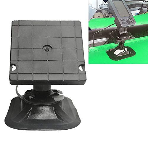 Breezeu Universal Soporte Giratorio para Kayak de Montaje de Pesca en Kayak Barco Inflable GPS Soporte para Detector de Pescado Electrónico Soporte para Pesca en Barco Buscador de Pescado