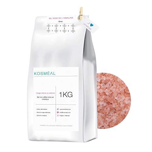 Sel Rose de l'Himalaya 1KG - Gros - Emballage Écologique Papier Kraft Blanc