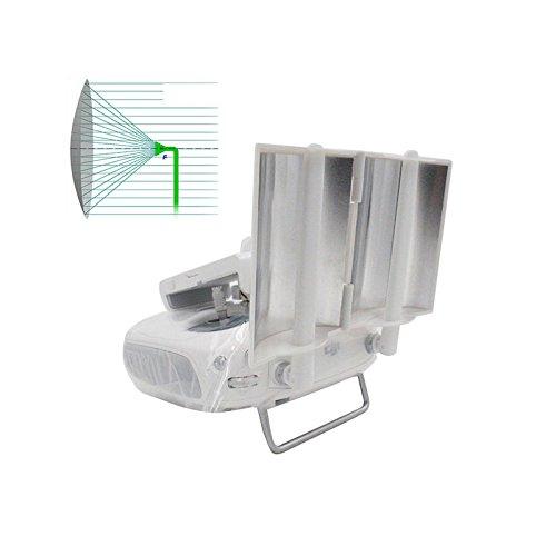 iMusk Antenne Signal Range Booster Parabolisch Faltbar für DJI Phantom 4 / Phantom 3 Professional / Advanced Inspire 1/2 Controller Transmitter Signal zur Verlängerung (Silber)