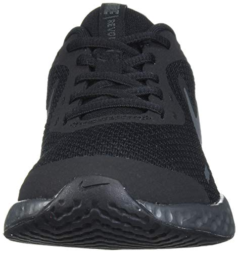 NIKE Revolution 5 (GS), Zapatillas, Negro (Black White Anthracite), 37.5 EU