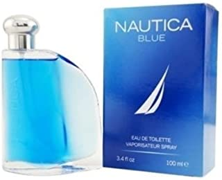 Nautica Blue Men Cologne 3.3 3.4 Oz 100 Ml Eau De Toilette Spray Sealed