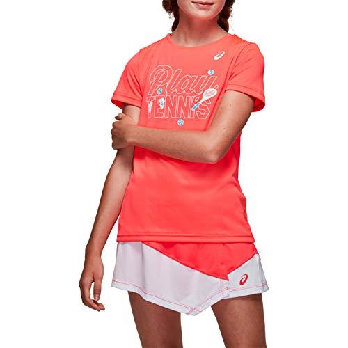 ASICS Unisex Kinder Tennis G Kids GPX T Unterhemd, Diva Pink, M
