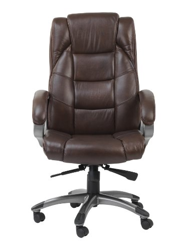 Alphason Chair, Leather, Brown, 1000x650x740mm