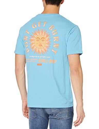 Hurley M Boxy Sunburn S/S T-Shirt Hombre