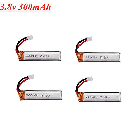 zjpvip218 300mAh 3,8V 30C 1S Lithiumbatterie für Happymodel MobulaBetaFPV Drohnenersatzteile-China_2 STÜCKE