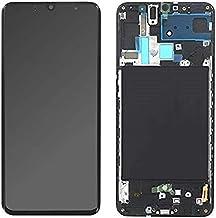 SPES Super Amoled - Pantalla táctil para Samsung Galaxy A70 A705F - GH82-19747A (con herramientas), color negro