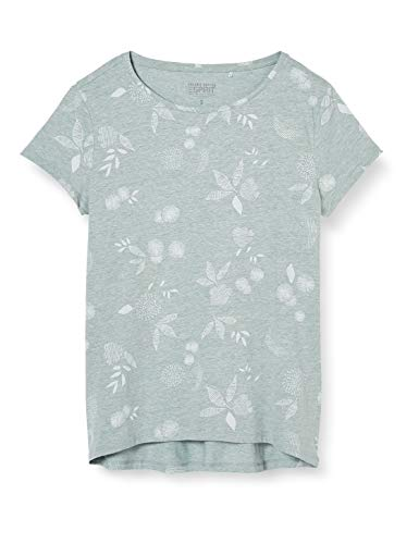 Esprit Damen 040EE1K397 T-Shirt, 390/LIGHT Aqua Green, M