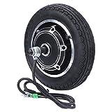 Credible Aleación de Aluminio del Accesorio del Motor del Eje de la Rueda del neumático del neumático de la Vespa eléctrica de 10 Pulgadas