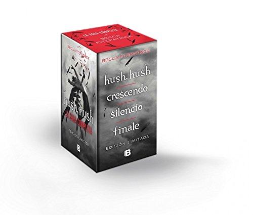 Hush Hush + Crescendo + Silencio + Finale: Saga Hush Hush (B DE BOLSILLO) [Idioma Inglés]