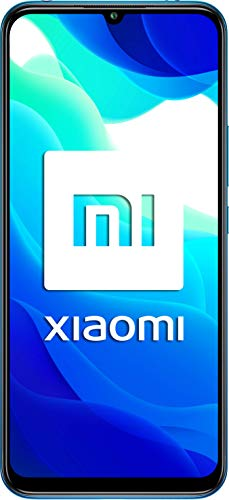 Xiaomi Mi 10 Lite 5G Smartphone, 6 GB + 128 GB, 6.57'' AMOLED, 48 MP Quad-Camera, 4160mAh, Blu (Aurora Blue)