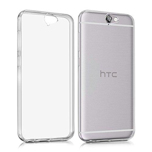 kwmobile Hülle kompatibel mit HTC One A9 - Silikon Handyhülle transparent - Handy Hülle in Transparent
