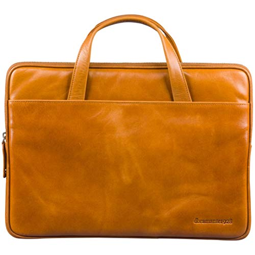dbramante1928 Silkeborg hoogwaardige elegante lederen tas laptoptas voor laptops en Apple MacBooks tot 13