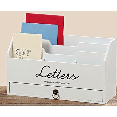 Briefablage Utensilo Lemgo Postablage 30 x 11 x 18 cm Briefhalter Ablage