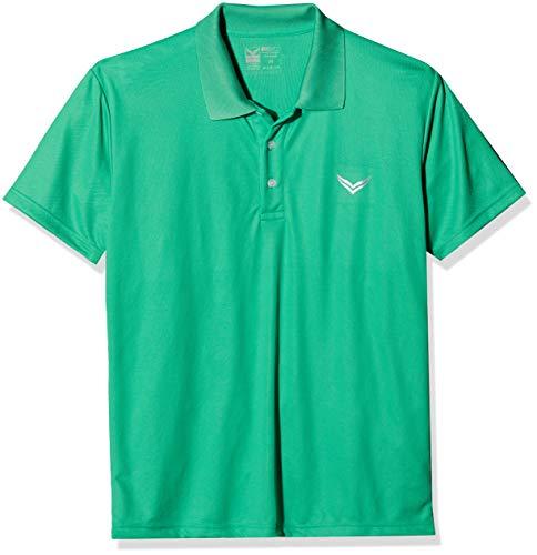Trigema 544601 Polo, Vert (Green 156), Medium Femme