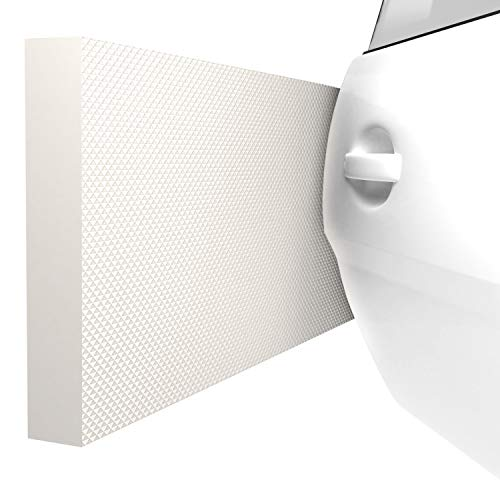 ATHLON TOOLS 4x MaxProtect Protectores de pared autoadhesivos para garaje, protección contra impactos (40 x 20 x 2cm, cada uno)