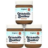 Oat Haus Organic Original Granola Butter   Peanut-free, Almond (Tree-Nut) Free, & School-Safe (Top 8 Allergen Free)   Sunflower Seed & Cookie Butter Alternative   12 oz (Pack of 3)